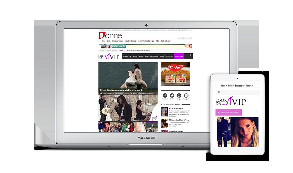 Sito desktop e Mobile